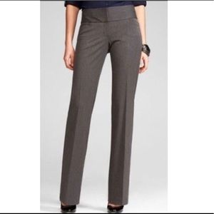 Express Editor Corporate Dark Charcoal Gray Pants